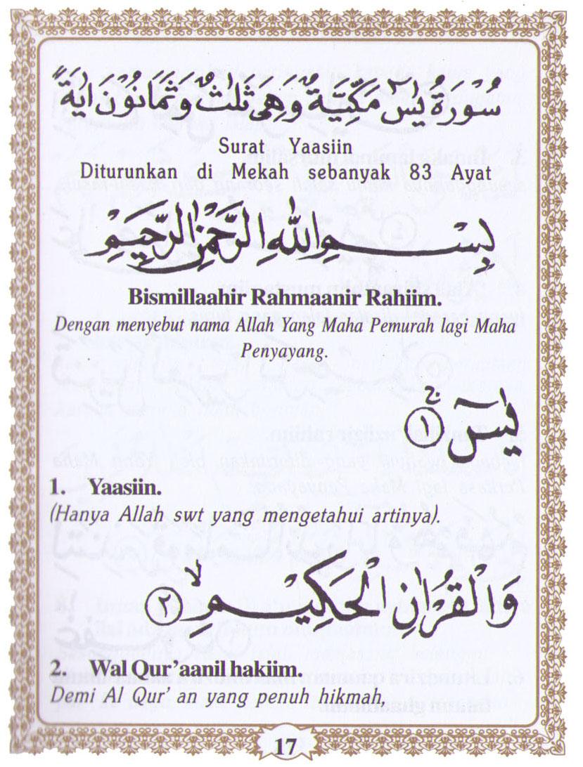 Download Isi Buku Yasin Dan Tahlil Cdr : download, yasin, tahlil, Yasin, Download, Gratis, Skieyrecycle