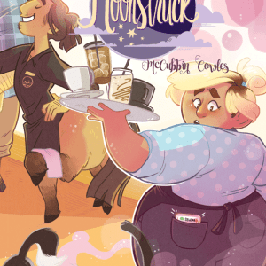 Adorable lesbian werewolves in love: Moonstruck #1 and #2