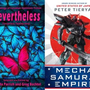 Signal Boost #42: Rhonda Parrish & Greg Bechtel (co-ed. Tesseracts 21: Neverthless) & Peter Tieryas (Mecha Samurai Empire)