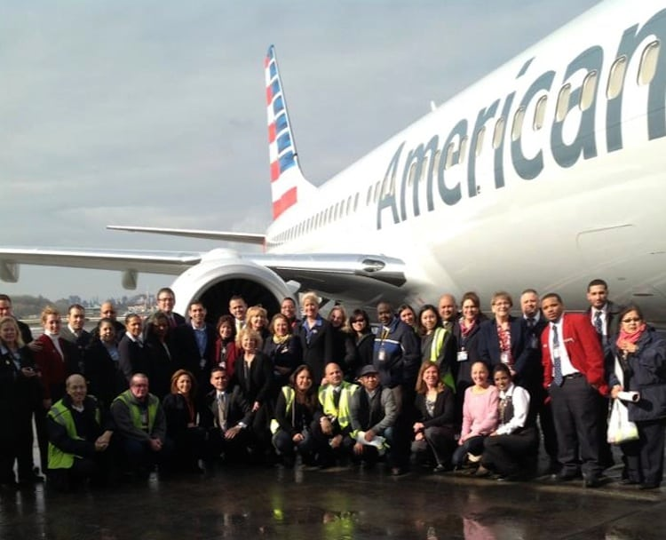 American Airlines employees have views of the redesign  Skift