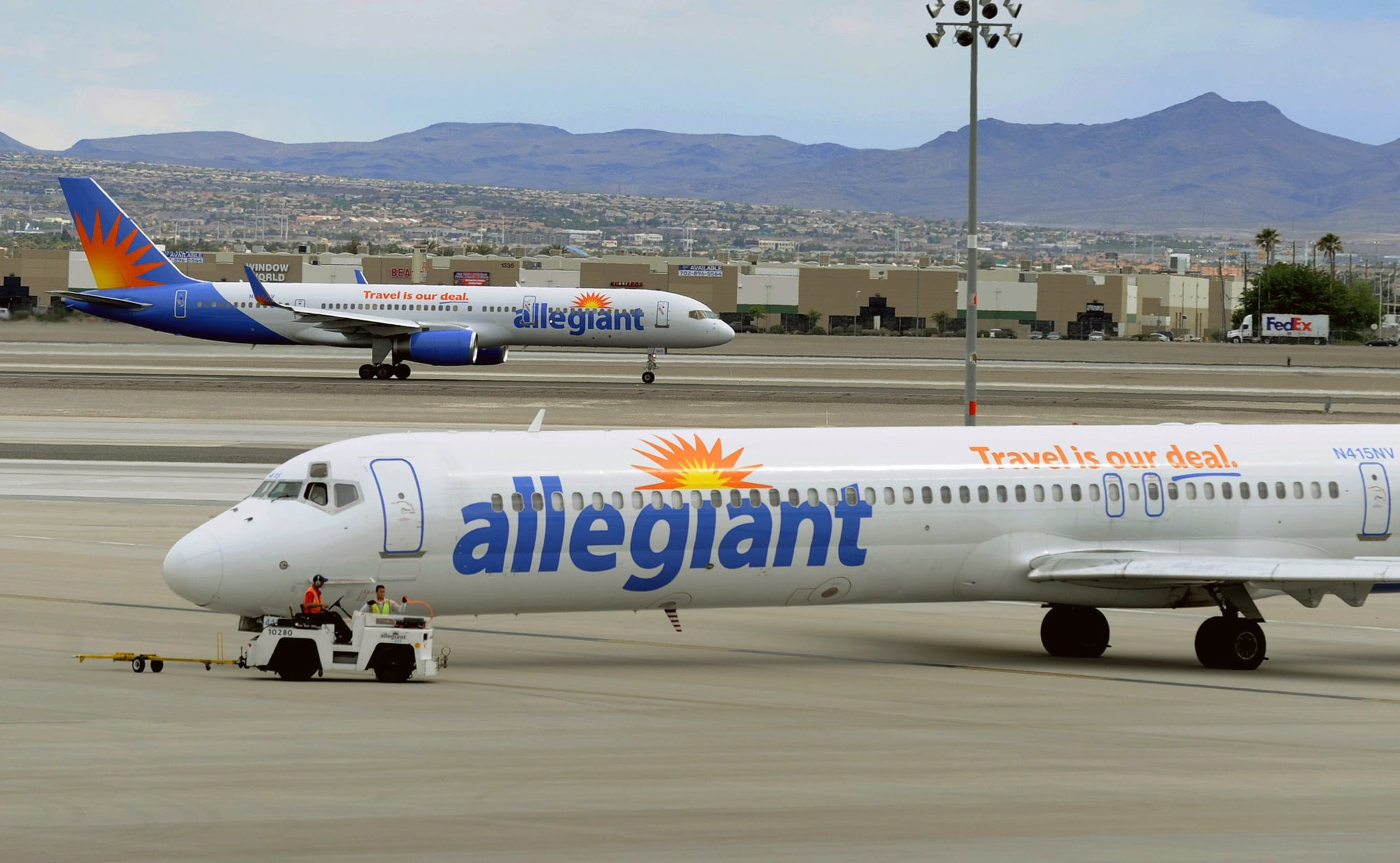 Allegiant Air Will Expand Its LowCost Service to Newark