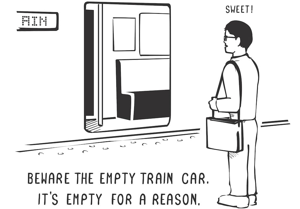 These Cartoons Teach Tourists How to Stay Sane and Survive