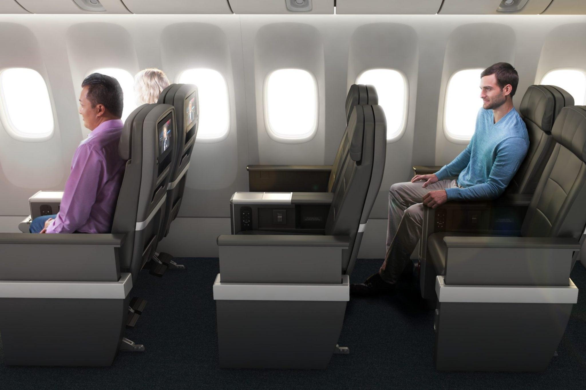 American Airlines New Premium Economy Cabin Will Beat U S