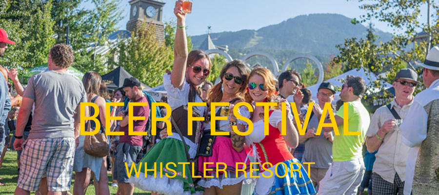 Whistler Village Beer Festival :: Beer in The Mountains