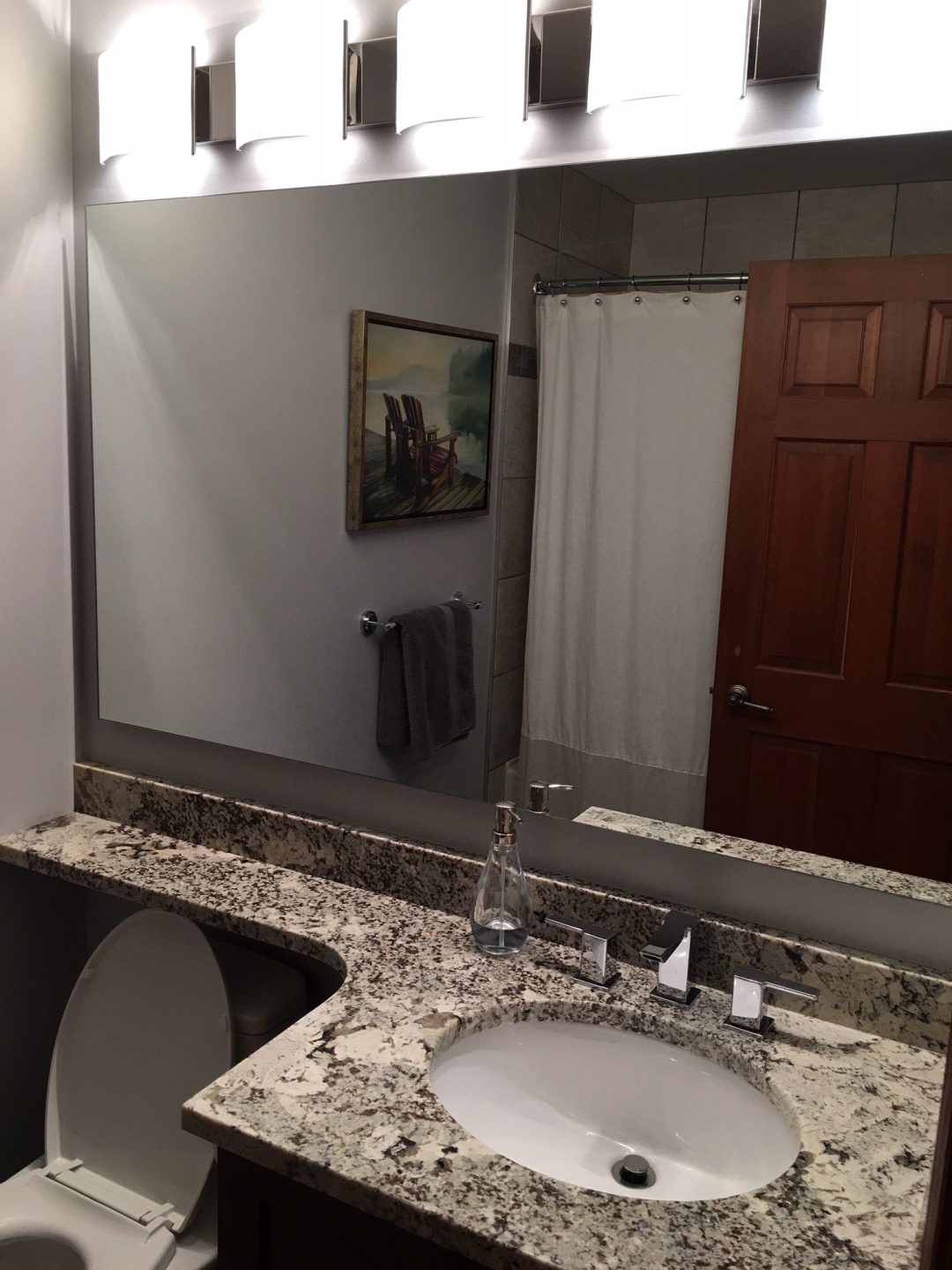 3 Bedroom Whistler Village Accommodation Master Bath