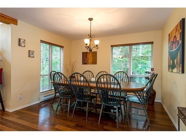 4 Bedroom Long Term Rental Whistler Dining Room
