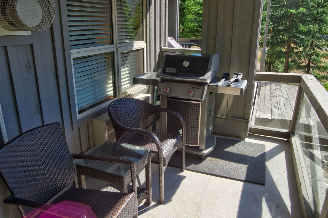 Aspens 1 Bedroom Unit 110 BBQ