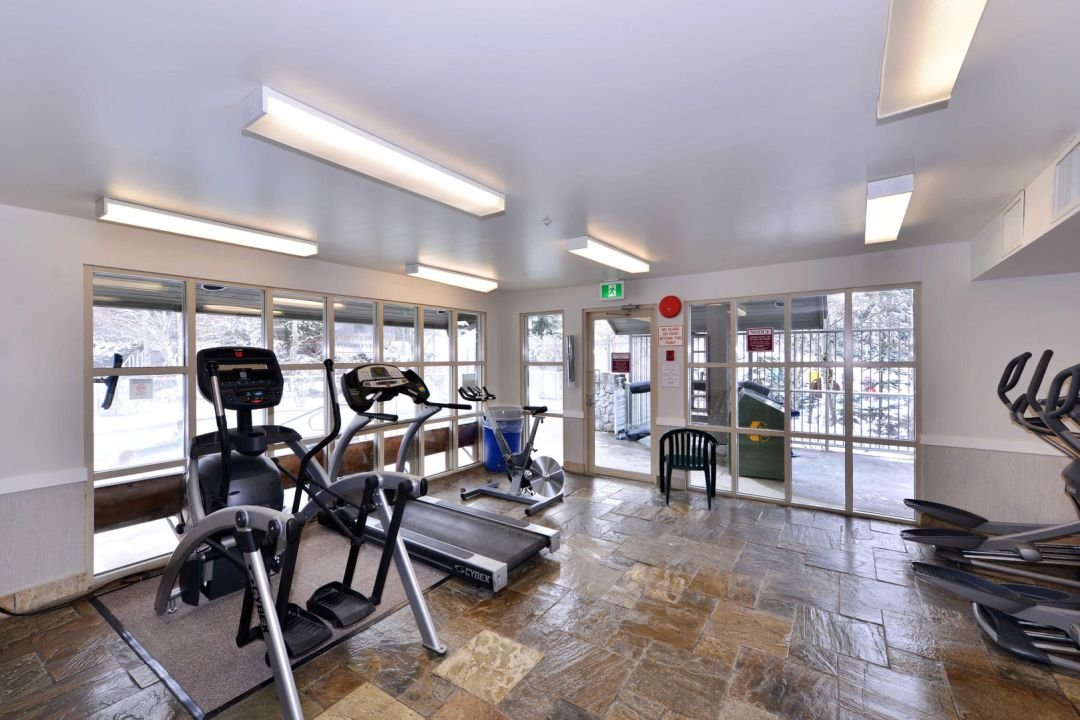 Aspens 1 Bedroom Unit 205 GYM