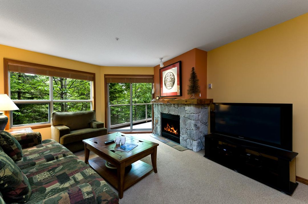 Aspens 1 Bedroom Unit #222 - LR