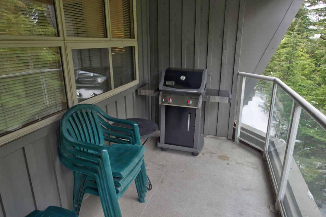 Aspens 1 Bedroom Unit 418 BBQ