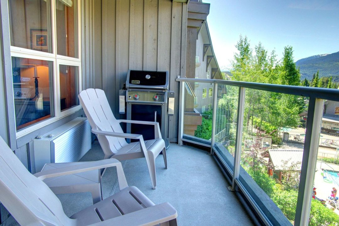 Aspens 1 Bedroom Unit 461 BBQ