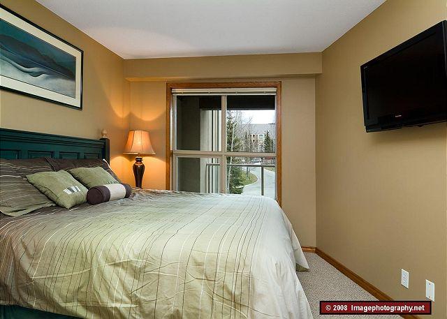 Whistler Aspens 242 Bedroom