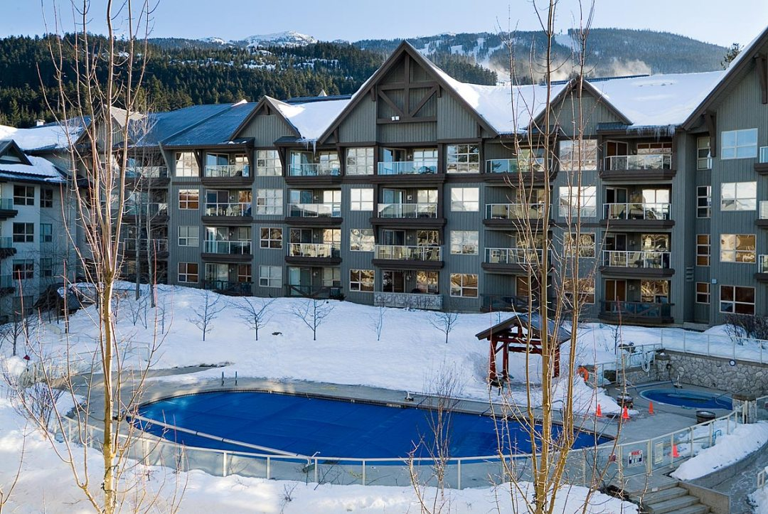 Aspens on Blackcomb Heated Pool Winter
