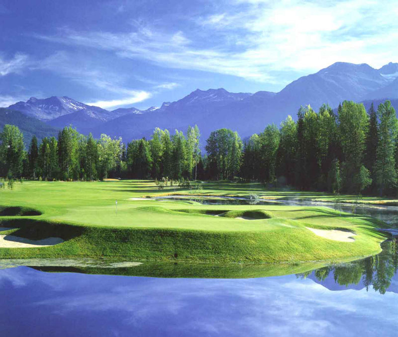 Nicklaus North Golf Course Whistler (2)