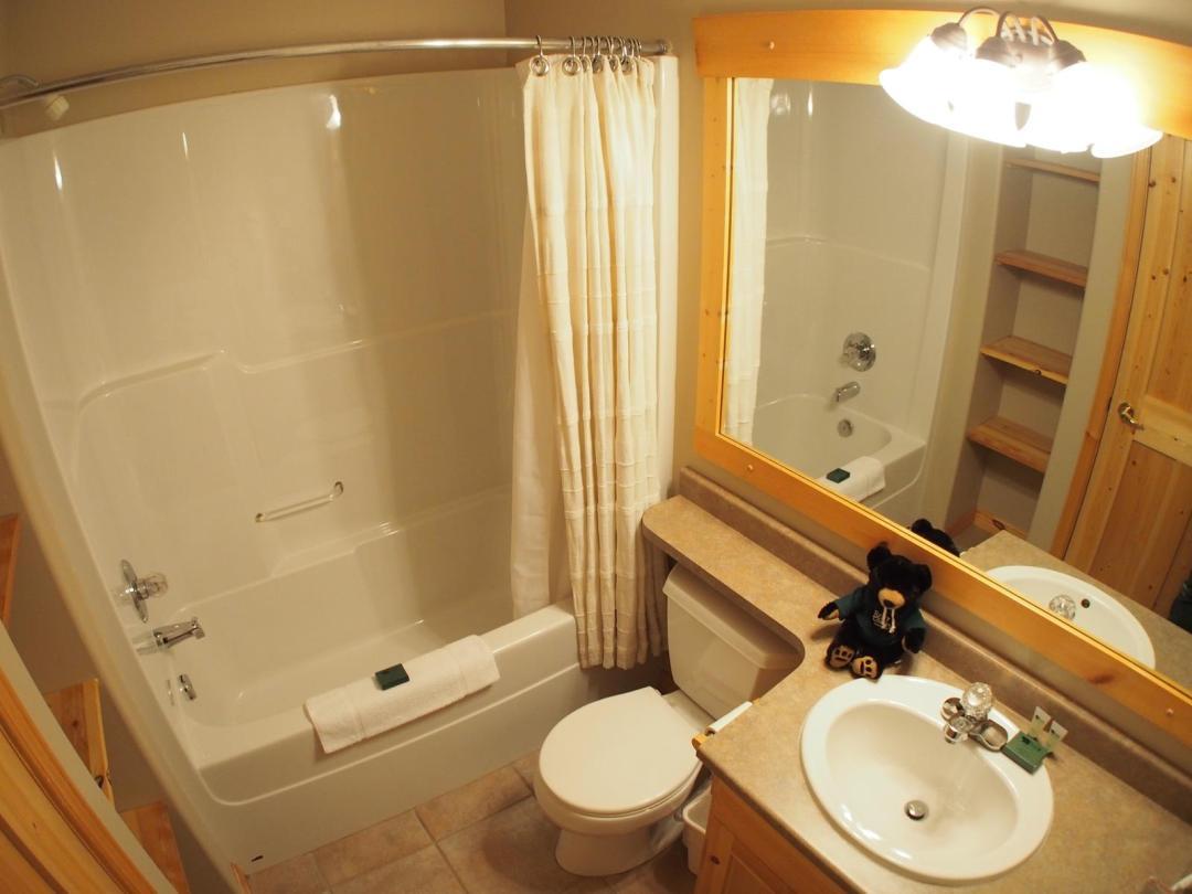 Crystal Forest 1 Bedroom Unit #11 Bath