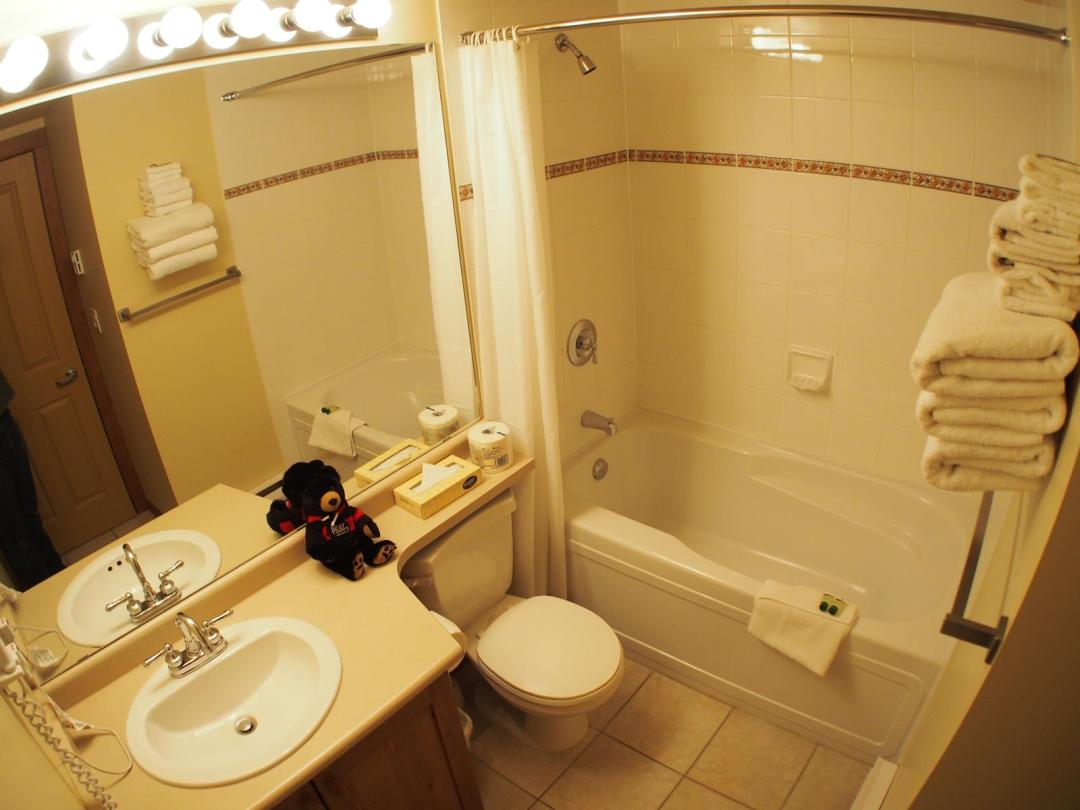 Fireside Lodge Two Bedroom Unit #302 BATH