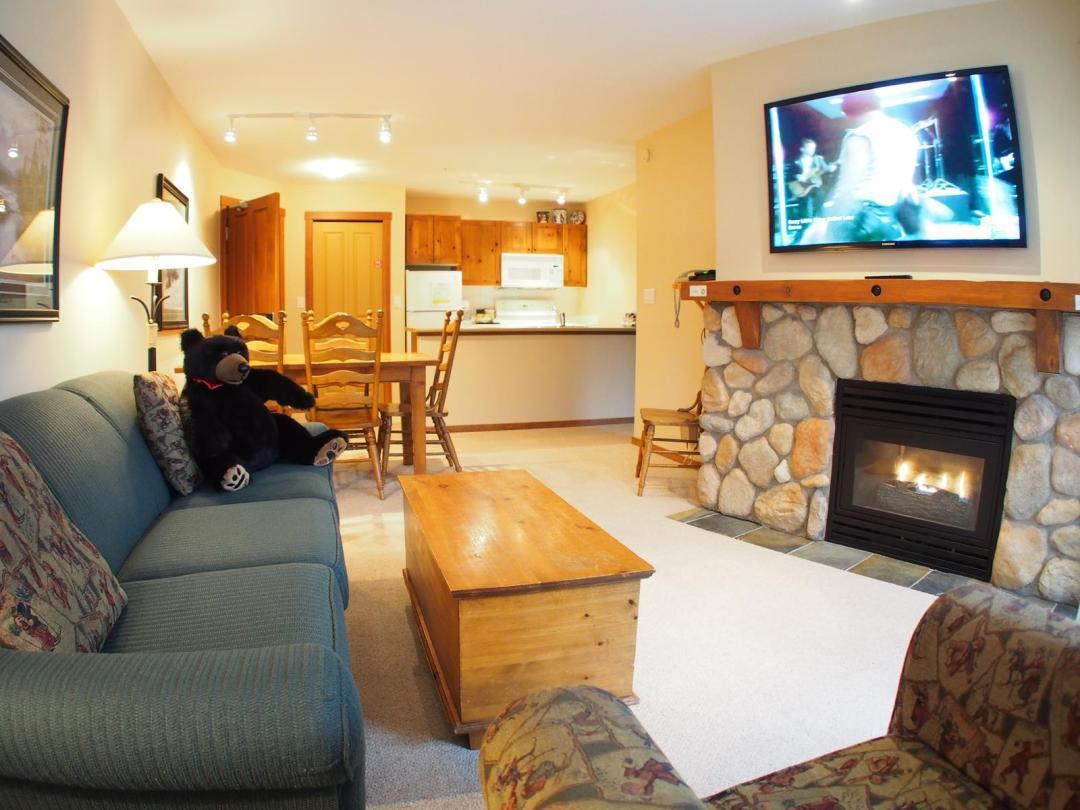 Fireside Lodge Two Bedroom Unit #302 LR