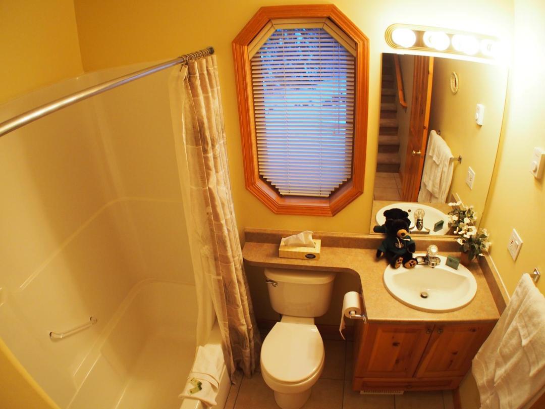 Snow Creek 3 Bedroom Unit #9 Bath