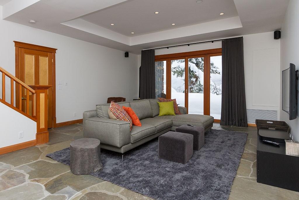 Peak Chalet Whistler Luxury Vacation Lower Level