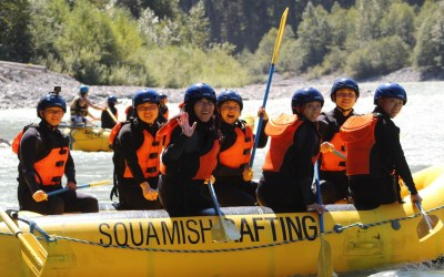 Squamish Rafting