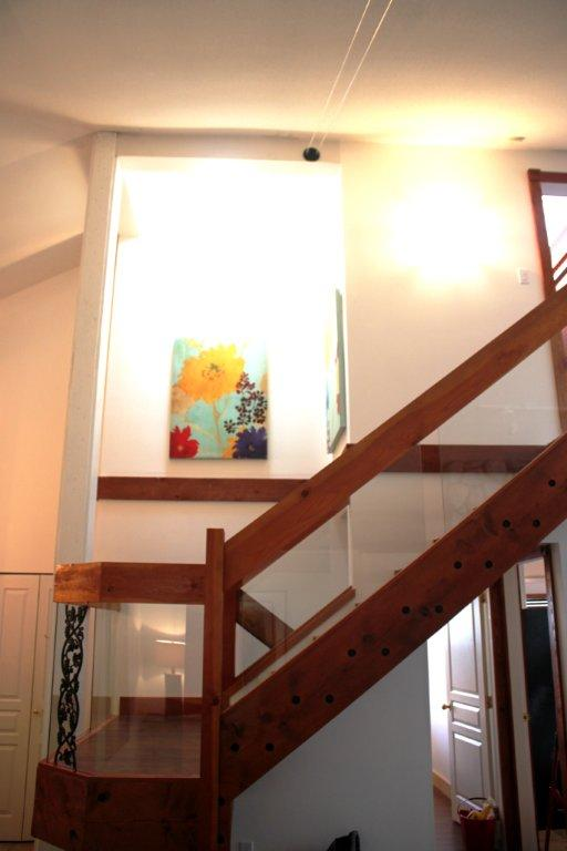 Whistler 5 Bedroom Rental Staircase