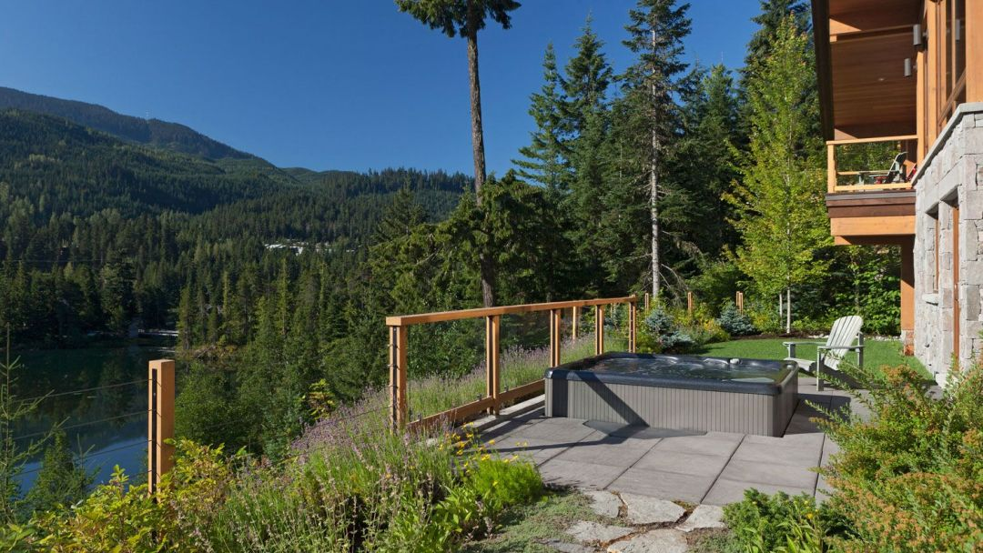 Whistler 8 Bedroom Rental Home Hot Tub Patio