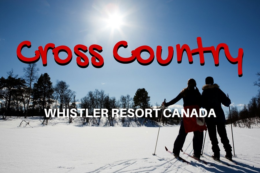 Winter Fun in Whistler :: Nordic Skiing