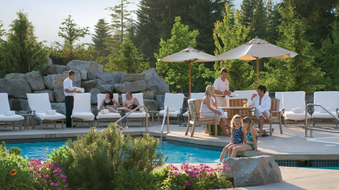 Whistler Four Seasons Resort Pool