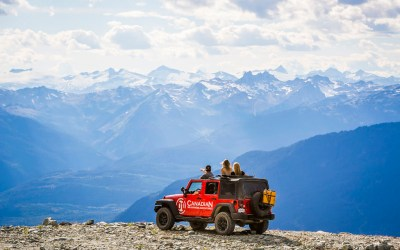 Jeep 4 x 4 Tours in Whistler