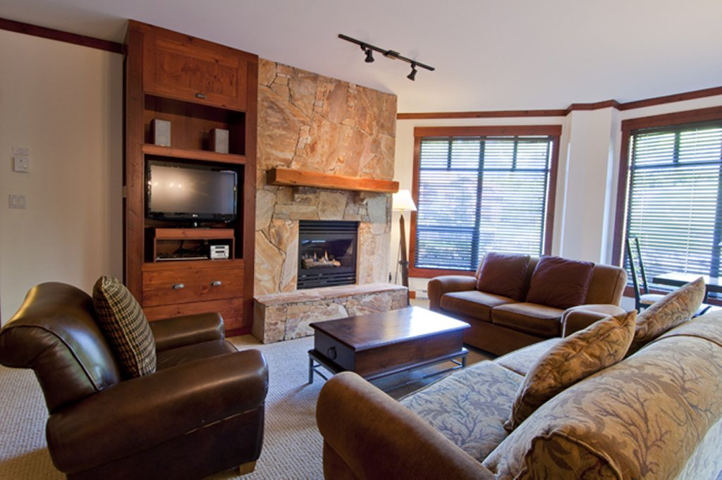 Whistler Luxury Hotel Ski In Ski Out First Tracks Lodge 3 BR Living Area