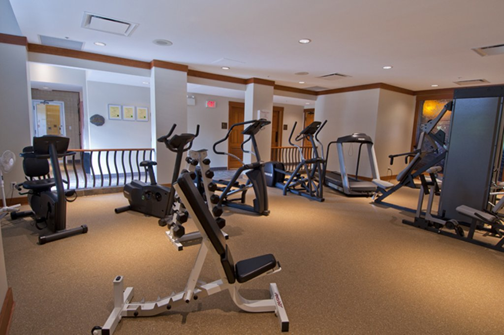 Whistler Luxury Hotel Ski In Ski Out First Tracks Lodge Fitness Room