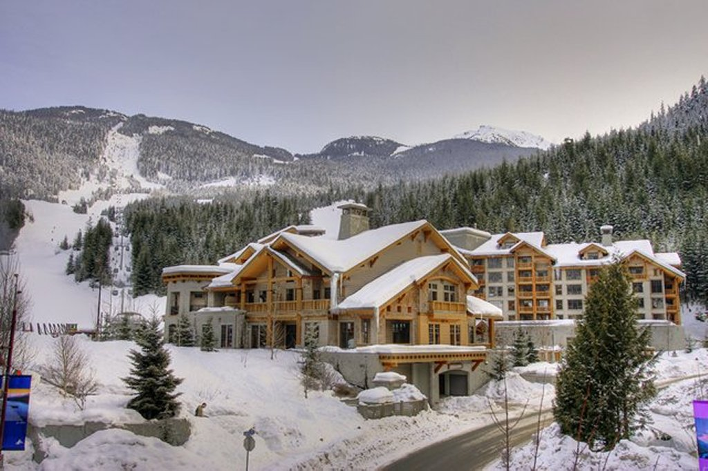 Whistler Luxury Hotel Ski In Ski Out First Tracks Lodge Winter Exterior