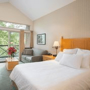 Whistler Village Hotel Bed