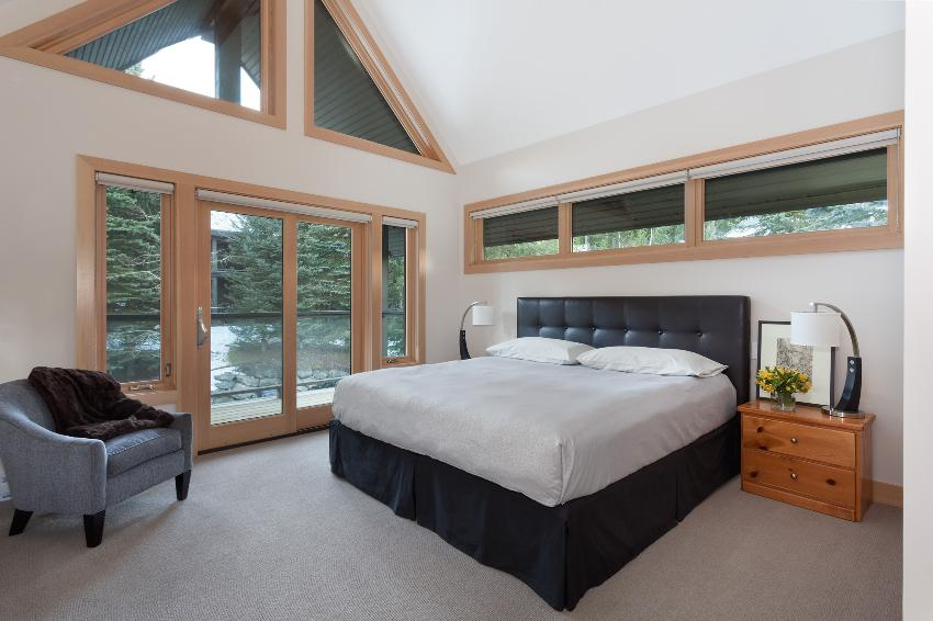 whistler 4 bedroom ski in ski out bedroom