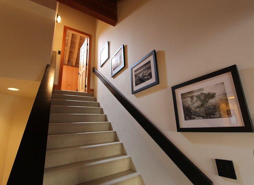 whistler village penthouse stairway