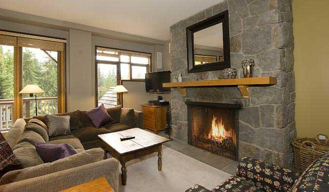 Whistler Cedar Creek B - Living Room