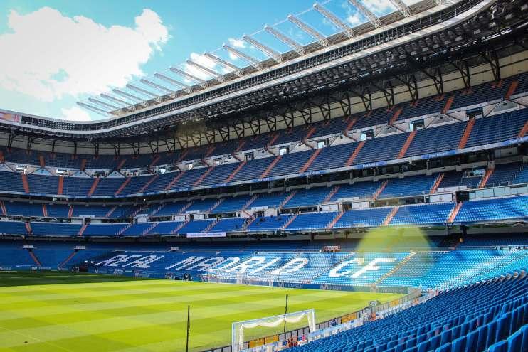 Real Madrid staium.