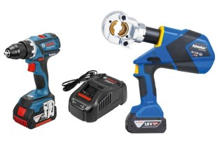 Klauke and Bosch tools