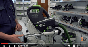 Festool Kapex KS 60 Sliding Compound Mitre Saw demonstration