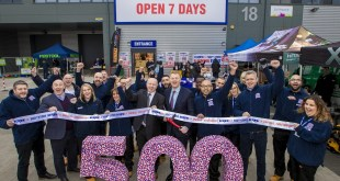 Screwfix opens 500th store