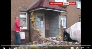 Builder demolishes work
