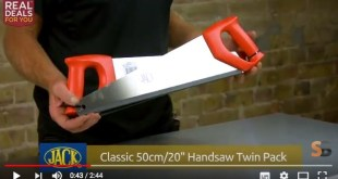 Real Deals for You: Jack Classic 50cm/20″ Handsaw Twin Pack review