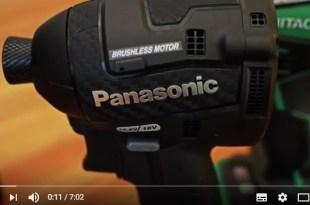 Panasonic Impact Driver review
