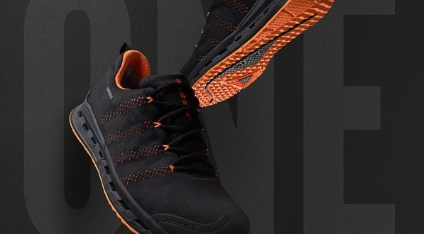 Light & flexible safety shoe for warmer weather