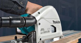Auto-start dust extraction added to Makita plunge saw