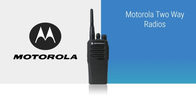 Motorola two way radio