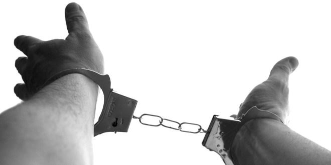 Modern Day Slavery handcuffs