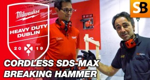 Milwaukee M18 Cordless SDS-Max Breaking Hammer