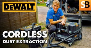 Cordless Dust Extraction with DeWalt DCV586M