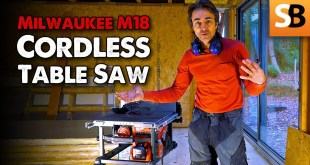 Milwaukee Cordless Table Saw – Robin's Site Test